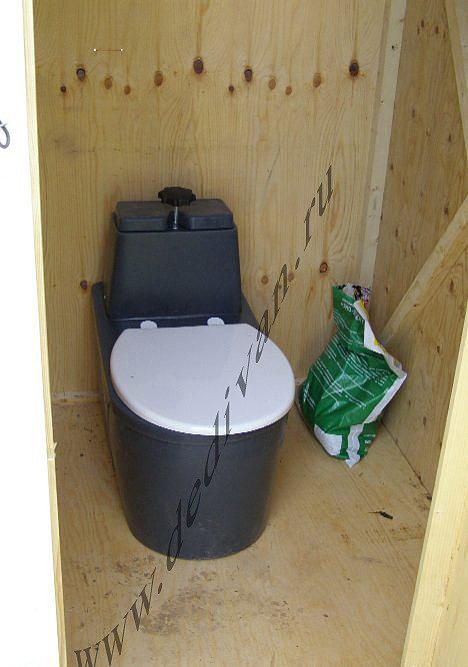 Туалет для дома своими руками